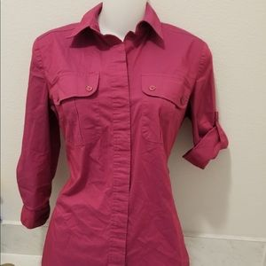 New York & Company Women's Button up